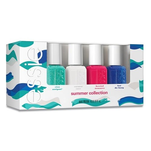 Essie Mini Kit - Viva Antigua Summer Collection, (4 x 0,16 fl.oz.) (Nagellack Essie Set)