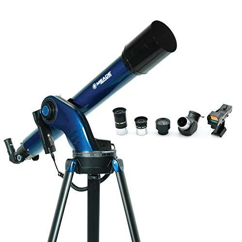 Telescopio Refractor Meade StarNavigator NG 90 Goto Acromático f/10