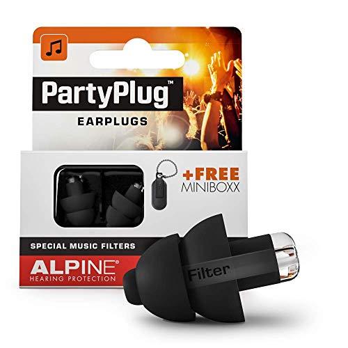 Alpine PartyPlug tappi per le orecchie per le feste i festival e i concerti sicurezza ottima qualità della musica materiale ipoallergenico