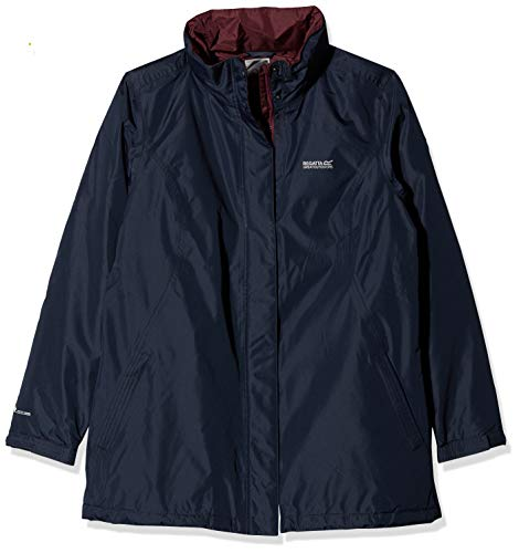 Regatta Women's Blanchet II Waterproof And Thermoguard Insulated Jacket, Navy, Size 16