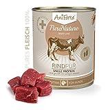AniForte® PureNature EasyBarf Hundefutter- Naturprodukt für Hunde (Rind Pur, 6x800g) - 3