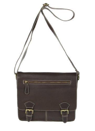 Bubalus wasserBüffel en cuir de buffle style vintage unisexe style sacoche messenger bag sac à bandoulière pour ipad mini/tablette jusqu'à 10 \\