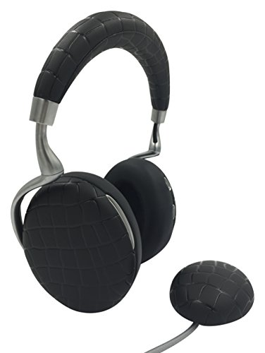 Parrot Zik 3 by Starck Casque audio Bluetooth, chargeur à induction inclus Noir Croco