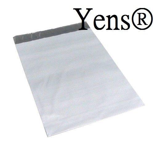 Mailer Cd Gepolsterte (Yens® POLY Versandtaschen 100PK Briefumschläge Versand Taschen mit Poly Versandtaschen. Reißfest, wasserabweisend und postage-saving leichtem Kunststoff Versand Umschläge (M2: 7,5x 10,5))