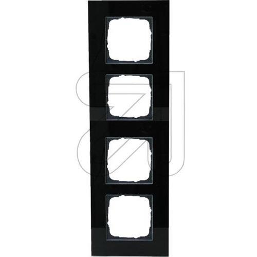 KLEIN 55 Glasrahmen 4-fach KG2514/15 schwarz 55x