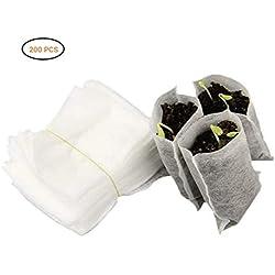 Bolsas de Planta Vivero Biodegradable(200 Piezas)