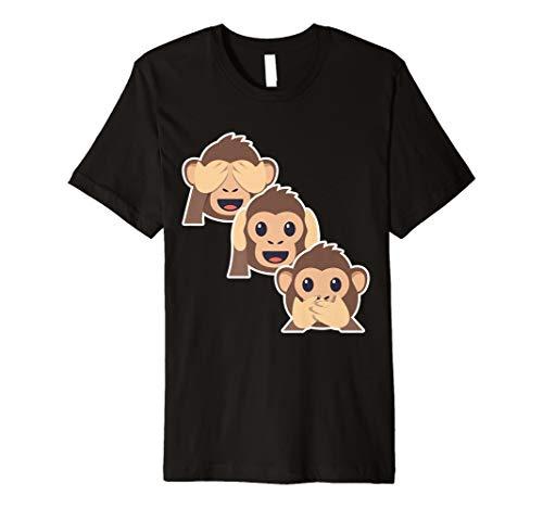 Die drei Mystic Affen 3Affen See No Evil Shirt