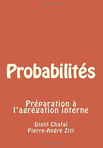 Probabilités: Préparation à l'agrégation interne