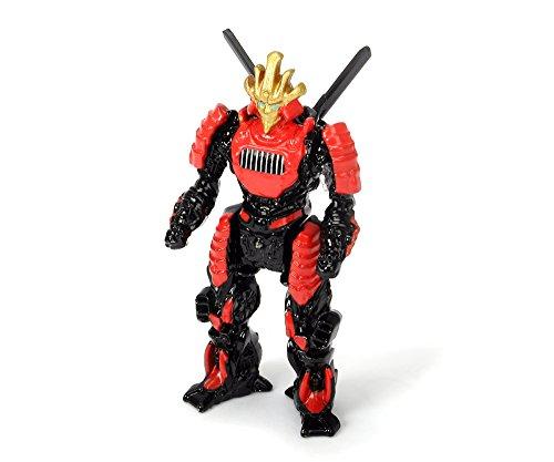 Majorette Dickie Toys 203111017 - Transformers M5 Drift Robot, Spielzeugfigur, Die-Cast, 1:64, 6cm
