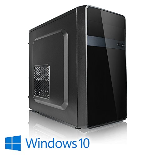 Megaport PC Intel Core i5-7500 7. Generation (Quadcore) 4x 3,40GHz • 8 GB DDR4 2400 • 1000GB Festplatte • Marken Mainboard • Intel HD Graphics 630 4K• Windows 10 • GigabitLAN • DVD Brenner office pc computer desktop pc home multimedia pc