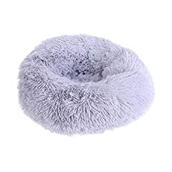 R-WEICHONG Hundebett Katzennest, Haustier Runde Sofa Lounge Stuhl Abdeckung, Weiche Plüschschlafsack, Plüsch Haustiernest