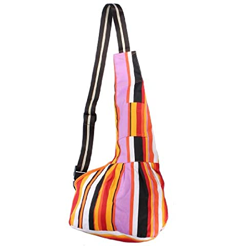 ColorNameed Durable Tissu Oxford Sling Simple Žpaule Pet Carrier Bag