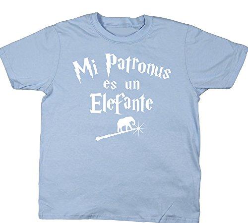 HippoWarehouse Mi Patronus es un Elefante Camiseta Manga Corta niños niñas Unisex