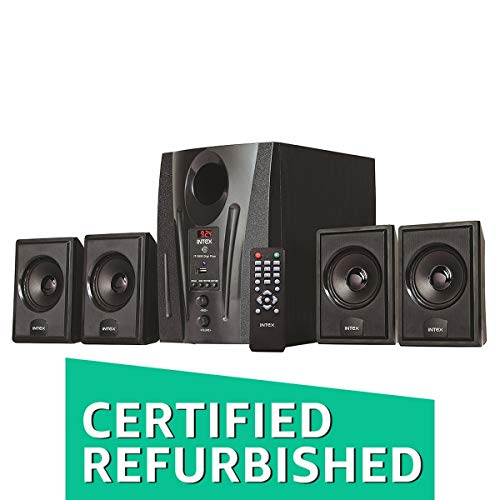 (Certified REFURBISHED) Intex IT-2655 DigiPlus 4.1 Channel Multimedia Speakers