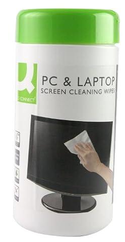 Clavier Informatique - Écran Q-Connect et Les Lingettes Clavier Pack