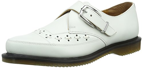 Dr. Martens - Rousden Smooth White, Mocassini Donna White