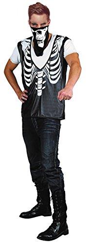Party Pro-costume Gangster Skelett, Mens, 87283096, Größe M