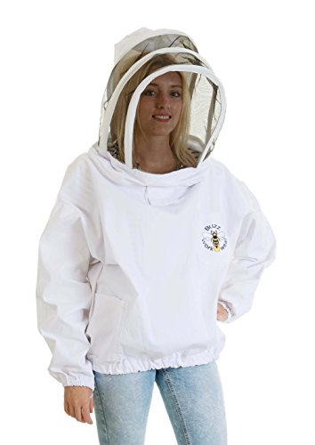 Buzz Workwear Beekeepers Tunic with fencing/astronaut veil -2XL 2
