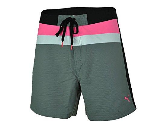 Puma Jamaica Jam Beach Calzoncini per uomo Pantaloncini Grigio, Dimension:XS