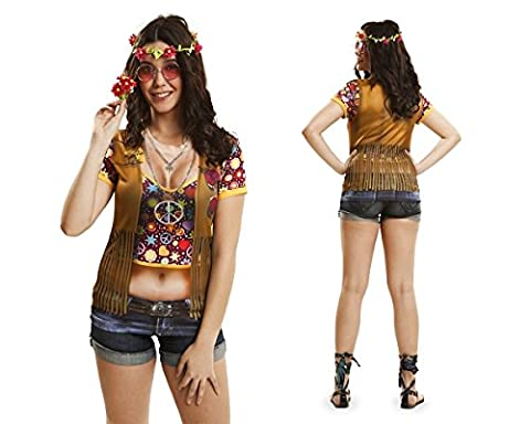 Girl Costume Hippie - Années 60 girl costume hippie