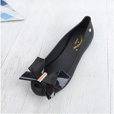 pwne Donna Sandali Slingback Estate Pu Casual Nero Argento US8 / EU39 / UK6 / CN39