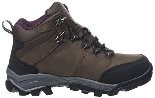 Regatta Asheland, Stivali da Escursionismo Alti Donna Marrone (Peat/dkburga)