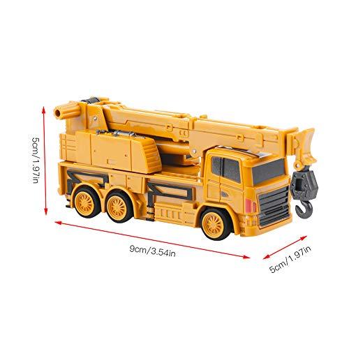 RC Auto kaufen Baufahrzeug Bild 3: Fernbedienung Bagger LKW Bagger Spielzeug RC Kran Mini Baufahrzeug Kinder Geschenk(Kran)*