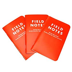 Field Notes Memo Books - Expedition Edition (Pack of 3)
