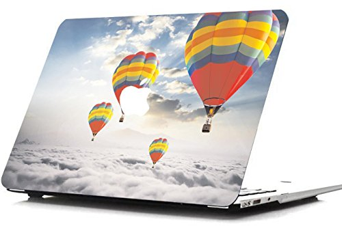 iVee international™ Hard Shell Back Case Cover Compatible With Macbook (MacBook Pro Ratina 13, Balloon)
