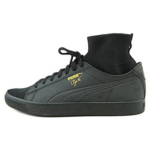 PUMA Clyde Sock Solar FM Men US 9 Black Sneakers