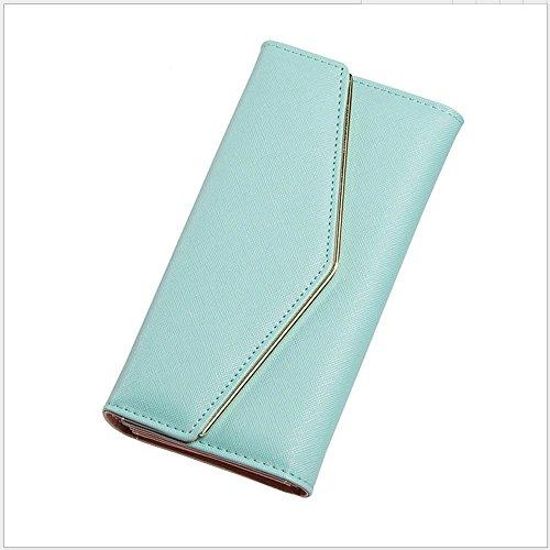 haixin Damen Handtasche Mode Hand Tasche Multi-Funktions-Geldbörse, eine Vielzahl von Farben kann wählen Sie die Größe (19.2cmx9.8cmx3.3cm) (Farbe Handtasche Multi Geldbeutel,)