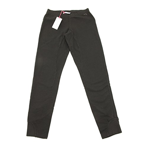 8547G pantaloni donna grigi PATRIZIA PEPE love sport cotone pantalone trousers w [40]