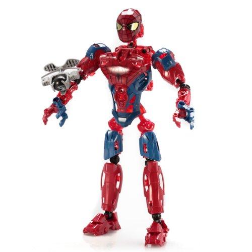 Mega Bloks - 91331 - Jeu de construction : The amazing Spider-Man Techbot