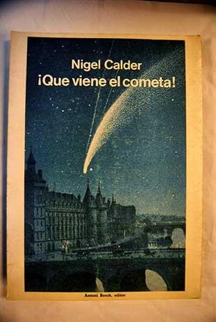 Que viene el cometa