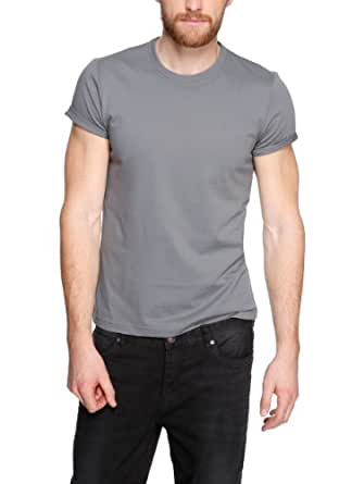 s.Oliver Herren T-Shirt 13.403.32.0668, Einfarbig, Gr. XX-Large, Grau (metal)