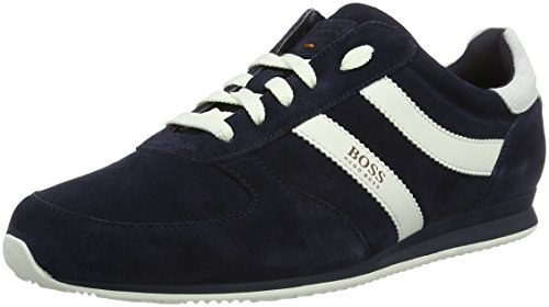 Boss Orange Orland, Sneakers Basses Homme Bleu (Dark Blue 401)