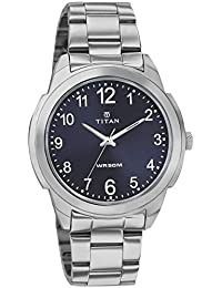 Titan Neo Analog Blue Dial Men's Watch-NJ1585SM05C