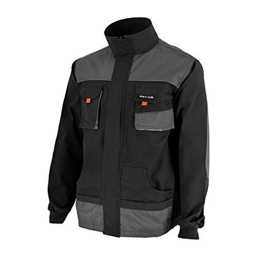 Preisvergleich Produktbild KREXUS Herren Arbeitsjacke Grau Gr. XL EX10301XL