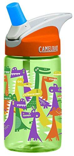 Camelbak Kinder Trinkflasche eddy Kids Dino Party Wasserflasche, 400 ml