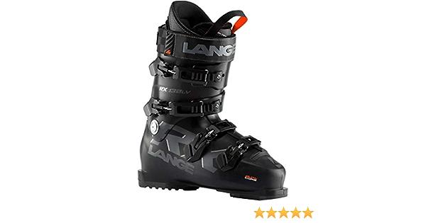 Schwarz Lange Herren Skischuhe RX 130 l.v schwarz Herren