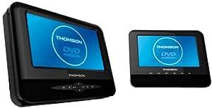 Thomson TWIN720DP Lecteur DVD portable Noir