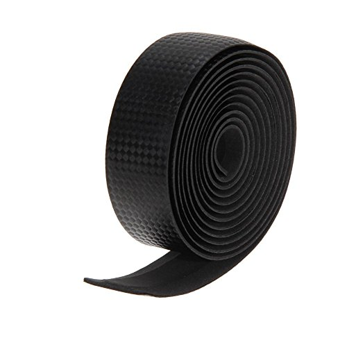 Everpert Cycling Cork Lenkerband Schwarz + 2 Bar Plug Carbon schwarz