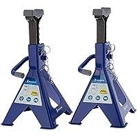 Michelin 92417/009557 Set de Caballetes de Apoyo con Capacidad de Elevación 2 T