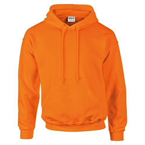 DryBlend ™ adulto felpa con cappuccio Arancione sicurezza