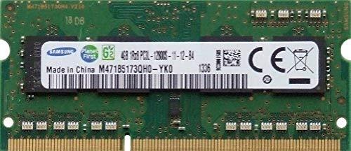 Samsung 4GB (1x 4GB) DDR3 1600MHz (PC3 12800U) LO Dimm Computer PC Desktop Arbeitsspeicher RAM Memory - Arbeitsspeicher Computer
