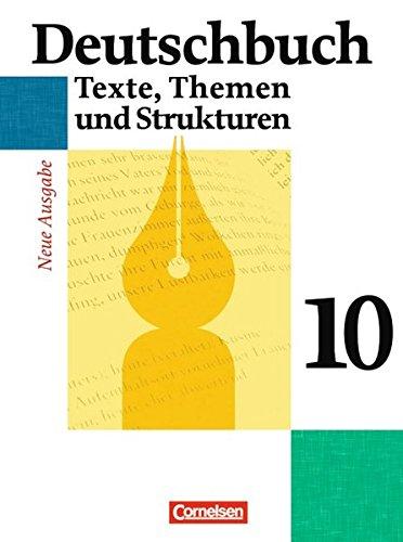 Deutschbuch Gymnasium - Allgemeine Ausgabe / 10. Schuljahr - Abschlussband 6-jährige Sekundarstufe I - Schülerbuch,