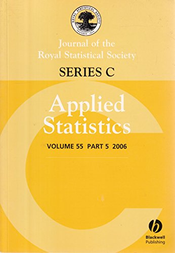Journal of the Royal Statistical Society: Series C: Applied Statistics: Volume 55, Part 4, 2006