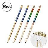 10pcs Multicolore arc-en-ciel Couleur Pen 4Core Creative Pen crayon Chool Bureau d'articles de papeterie enfants Cadeau