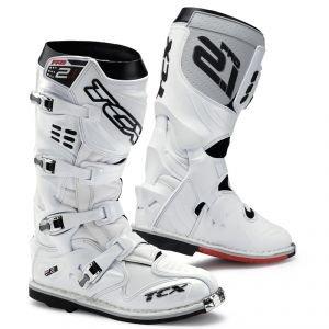 Preisvergleich Produktbild 9622 - TCX Pro 2.1 Motocross Boots 46 White (UK 11)