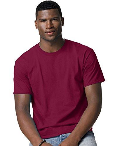 Hanes T-Shirt, Rot, HAN-5250-CRDNL-2X - Rot Heavyweight Tee